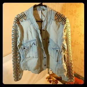Free People Jeans Jacket NWT